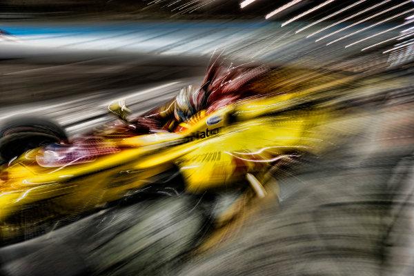 2017 IndyCar Media Day - Track Action Phoenix Raceway, Arizona, USA Saturday 11 February 2017 Ryan Hunter-Reay World Copyright: Michael L. Levitt/LAT Images ref: Digital Image _AT_3984