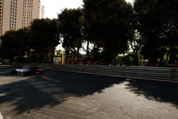 Monte Carlo, Monaco. Thursday 25 May 2017. Pascal Wehrlein, Sauber C36-Ferrari. World Copyright: Sam Bloxham/LAT Images ref: Digital Image _J6I0192