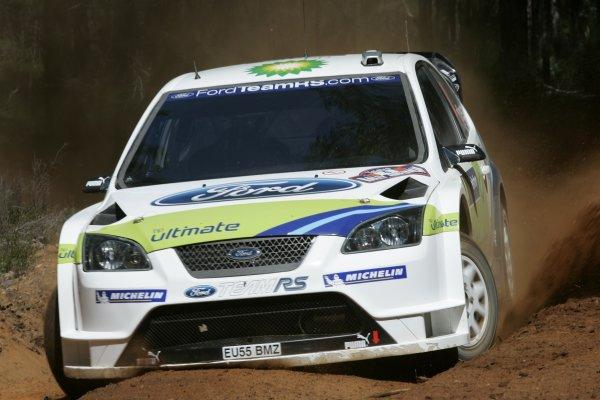 2005 FIA World Rally Champs. Round Sixteen, Rally Australia.10th - 13th November 2005.Roman Kresta, Ford, action.World Copyright: McKlein/LAT