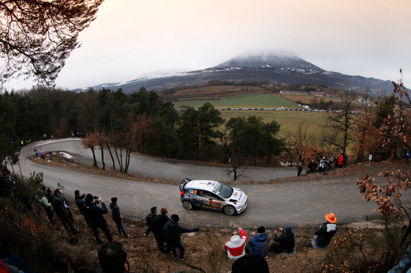 www.sutton-images.com - Ott Tanak (EST) / Raigo Molder (EST) Ford Fiesta RS WRC at the FIA World Rally Championship, Rd1, Rally Monte Carlo, Preparatons and Shakedown, Monte Carlo, 22 January 2015. Photo Sutton Images