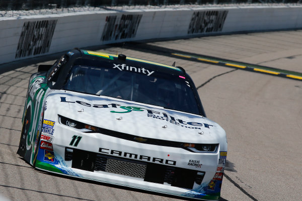 NASCAR XFINITY Series American Ethanol E15 250 presented by Enogen Iowa Speedway, Newton, IA USA Friday 23 June 2017 Blake Koch, LeafFilter Gutter Protection Chevrolet Camaro World Copyright: Brett Moist LAT Images