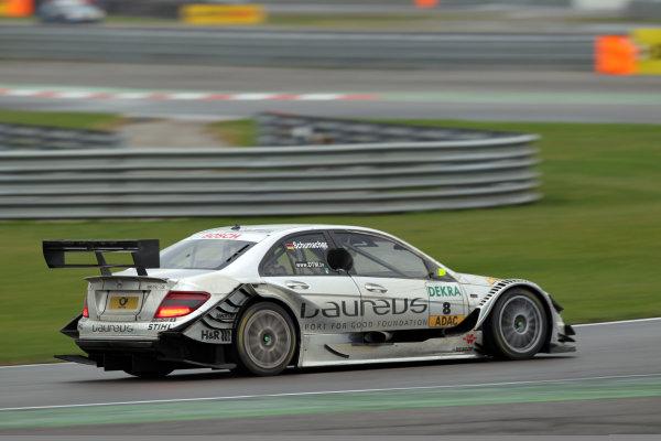 Ralf Schumacher (GER), Laureus AMG Mercedes, Laureus AMG Mercedes C-Klasse (2009).DTM, Rd10, Adria International Raceway, Italy. 29-31 October 2010 World Copyright: LAT Photographicref: dne1031oc142