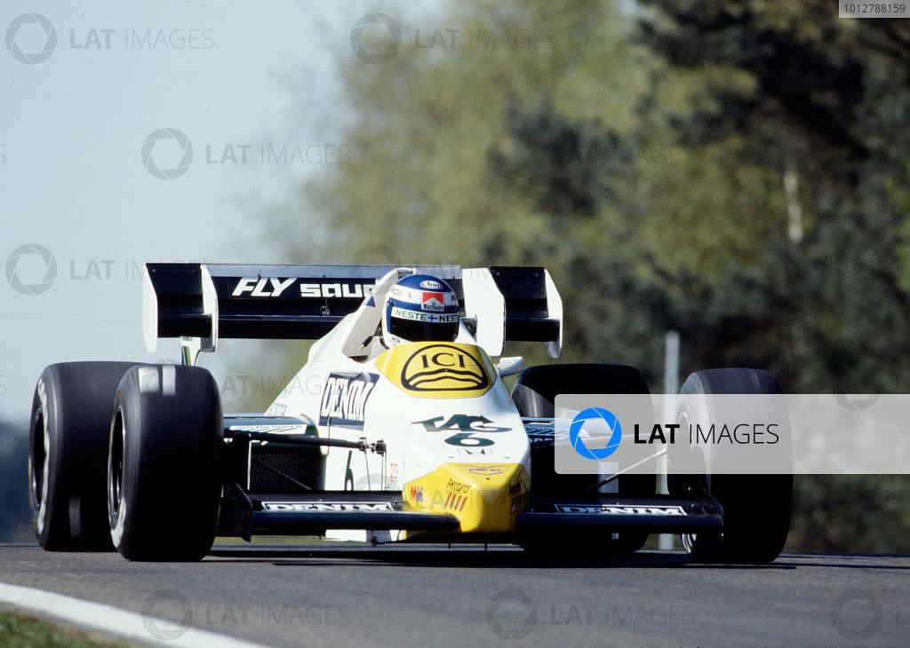 1984 Belgian Grand Prix.