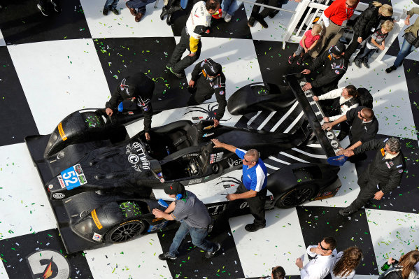 22-25 January, 2015, Daytona Beach, Florida USA Rolling into VL, 52, Chevrolet, ORECA FLM09, PC, Mike Guasch, Andrew Novich, Andrew Palmer, Tom Kimber-Smith. ?2015, F. Peirce Williams LAT Photo USA