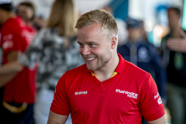 2016/2017 FIA Formula E Championship. Marrakesh ePrix, Circuit International Automobile Moulay El Hassan, Marrakesh, Morocco. Saturday 12 November 2016. Felix Rosenqvist (SWE), Mahindra Racing, Spark-Mahindra, Mahindra M3ELECTRO.  Photo: Zak Mauger/Jaguar Racing ref: Digital Image _L0U7357