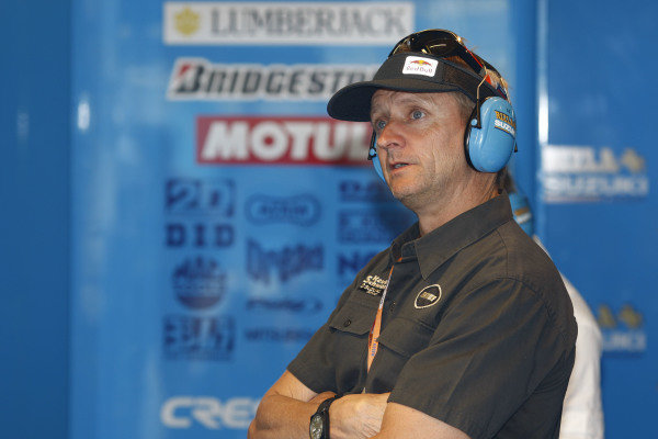 Former champion Kevin Schwantz (USA). MotoGP, Rd9 A-Style TT Assen, Assen, Netherlands, 27-28 June 2008.