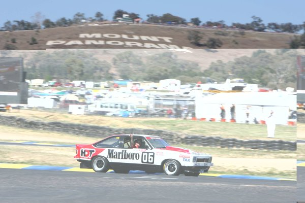 V8 Supercar Championship Round 9 Bathurst. The 1979 Bathurst-winning Holden Torana SS 5000 of Peter Brock/Jim Richards during the Champion's Lap of Honour with David Parsons at the wheel at the Supercheap Auto 1000 at Mt Panorama, Bathurst. October 5th - 8th, 2006. Mark Horsburgh