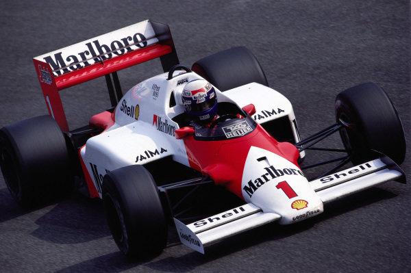 Alain Prost, McLaren MP4-2C TAG.