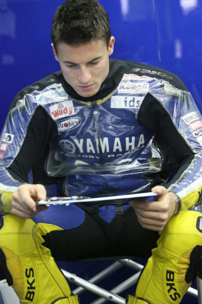 Ricardo Tormo Circuit, Valencia, Spain.24th - 26th October 2008.James Toseland Tech 3 Yamaha.World Copyright: Martin Heath / LAT Photographicref: Digital Image BPI_Moto 649a