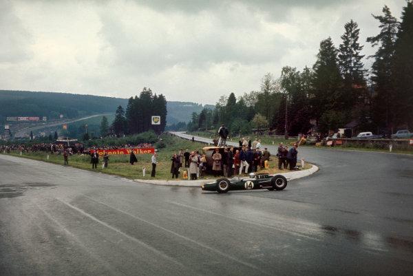 Spa-Francorchamps, Belgium. 11-13 June 1965.Jack Brabham (Brabham BT11 Climax) 4th position. Ref-65 BEL 07.World Copyright - LAT Photographic