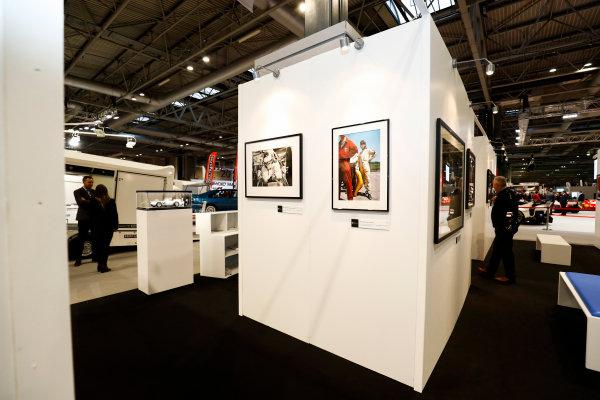 Autosport International Exhibition. National Exhibition Centre, Birmingham, UK. Thursday 11th January 2017. The LAT Stand.World Copyright: Ashleigh Hartwell/LAT Images Ref: _O3I7547