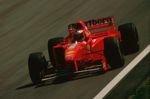 A1-Ring, Zeltweg, Austria.19-21 September 1997.Michael Schumacher (Ferrari F310B) 6th position.Ref-97 ITA 04.World Copyright - LAT Photographic