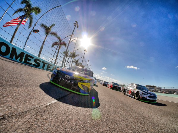 Monster Energy NASCAR Cup Series Ford EcoBoost 400 Homestead-Miami Speedway, Homestead, FL USA Sunday 19 November 2017 Kyle Busch, Joe Gibbs Racing, M&M's Caramel Toyota Camry World Copyright: Lesley Ann Miller LAT Images