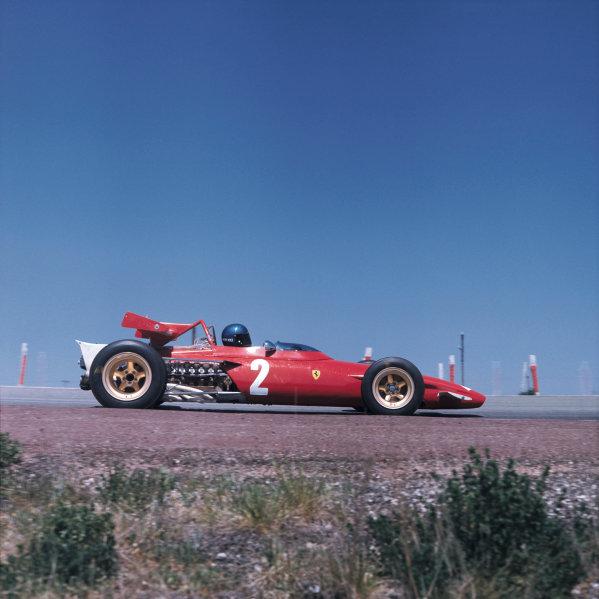 Jarama, Madrid, Spain. 17th - 19th April 1970. Jacky Ickx (Ferrari 312B).World Copyright - LAT Photographic