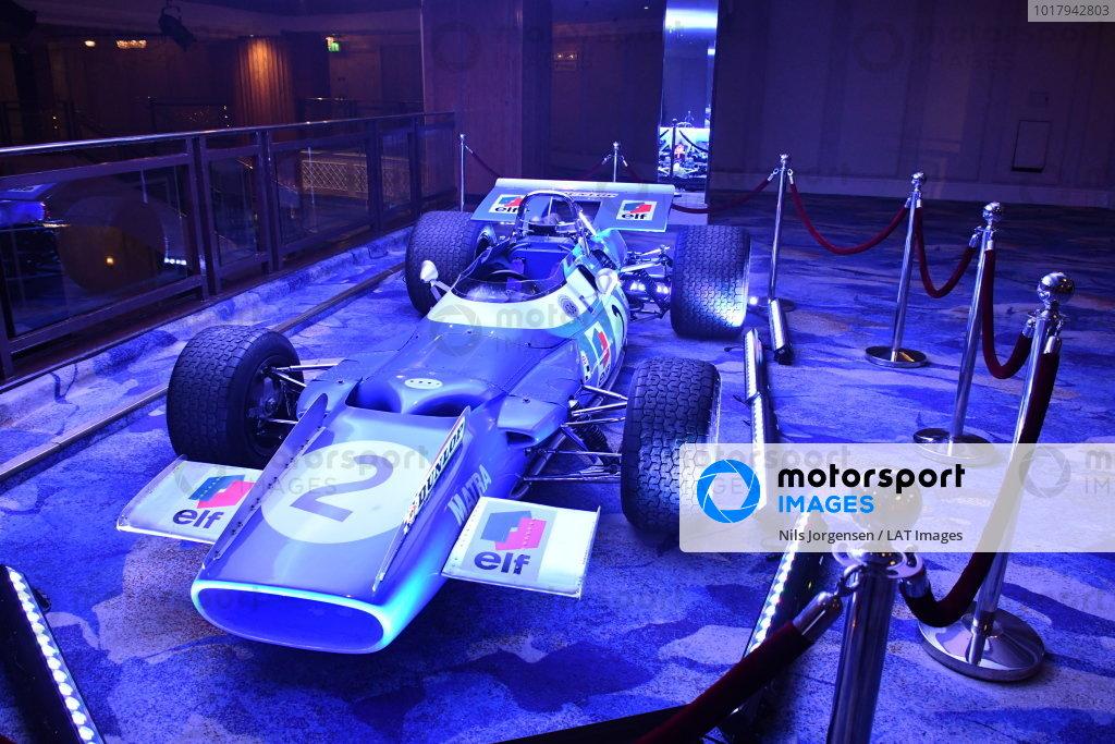 Matra MS80 driven by Sir Jackie Stewart on display
