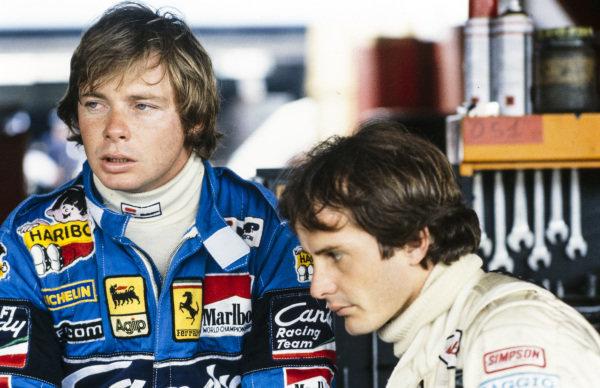 Didier Pironi and Gilles Villeneuve.