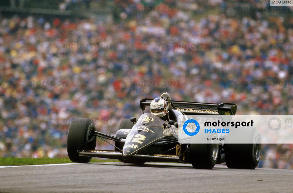 1984 Austrian Grand Prix.