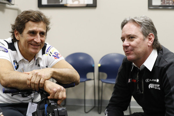 Alex Zanardi and Jimmy Vasser