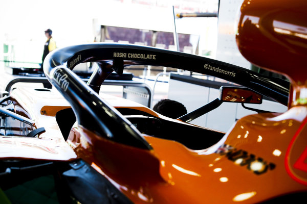 Car of Lando Norris, McLaren MCL34