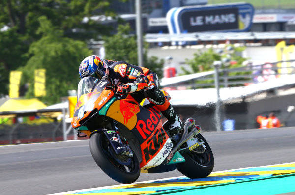 2017 Moto2 Championship - Round 5 Le Mans, France Friday 19 May 2017 Miguel Oliveira, Red Bull KTM Ajo World Copyright: Gold & Goose Photography/LAT Images ref: Digital Image 670549