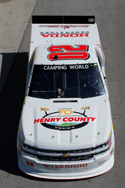 NASCAR Camping World Truck Series Las Vegas 350 Las Vegas Motor Speedway, Las Vegas, NV USA Saturday 30 September 2017 Timothy Peters, Henry County / autosbynelson.com Chevrolet Silverado World Copyright: Russell LaBounty LAT Images