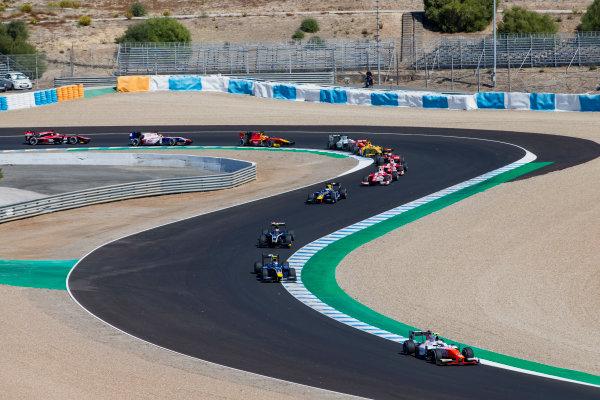 2017 FIA Formula 2 Round 10. Circuito de Jerez, Jerez, Spain. Sunday 8 October 2017. Jordan King (GBR, MP Motorsport).  Photo: Zak Mauger/FIA Formula 2. ref: Digital Image _X0W2729