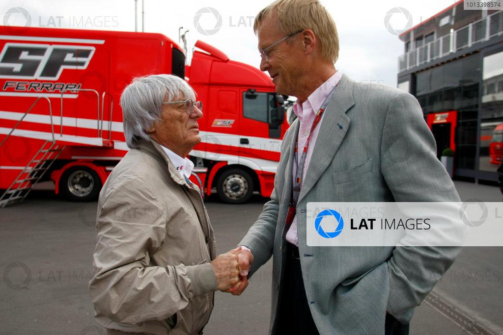 2009 German Grand Prix - Friday