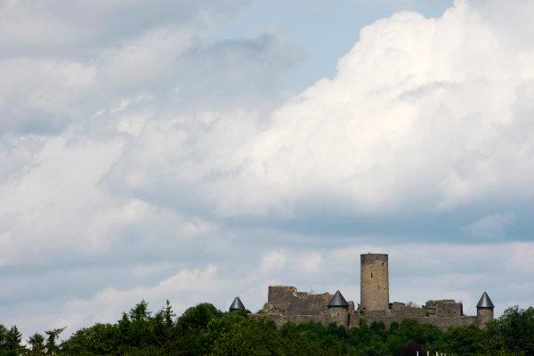 Nurburgring, Germany9th July 2009Nurburg Castle. Atmosphere.World Copyright: Charles Coates/LAT Photographicref: Digital Image _26Y5432