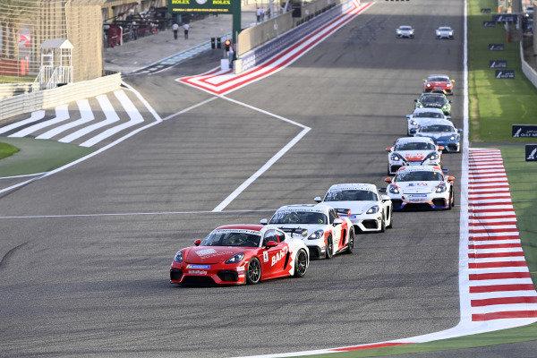 Shaikh Salman bin Isa Al Khalifa (BAH), leads Car 48 and Bandaralesayi (KSA)
