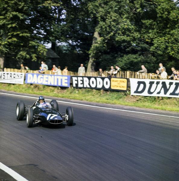 Graham Hill, BRM P578.
