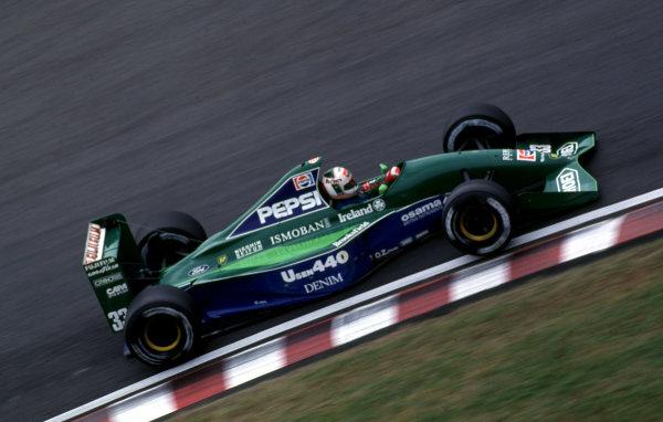 1991 Japanese Grand Prix.Suzuka, Japan.18-20 October 1991.Andrea de Cesaris (Jordan 191 Ford).World Copyright - LAT Photographic