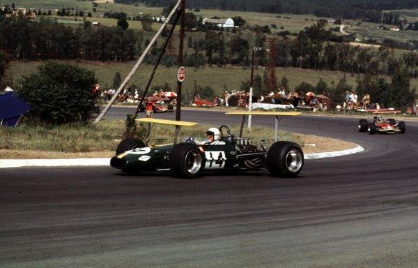 1969 South African Grand Prix.Kyalami, South Africa.27/2-1/3 1969.Jack Brabham (Brabham BT26 Ford).Ref-69 SA 56.World Copyright - LAT Photographic