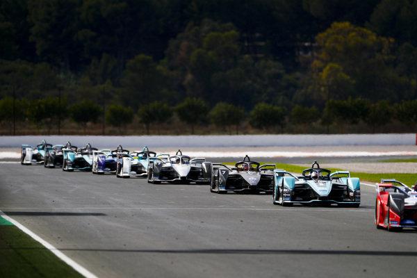 James Calado (GBR), Panasonic Jaguar Racing, Jaguar I-Type 4, Nico Muller (CHE), GEOX Dragon, Penske EV-4 and Nyck de Vries (NLD), Mercedes Benz EQ, EQ Silver Arrow 01
