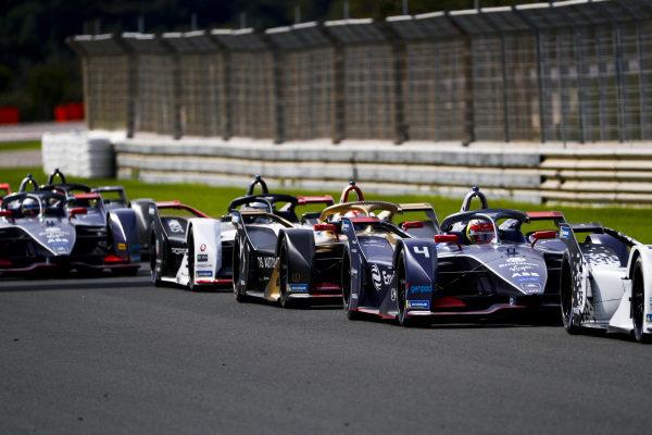 Robin Frijns (NLD), Envision Virgin Racing, Audi e-tron FE06, Jean-Eric Vergne (FRA), DS Techeetah, DS E-Tense FE20