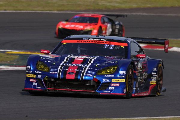Takuto Iguchi & Hideki Yamauchi, SUBARU BRZ R&D SPORT, 2nd in GT300