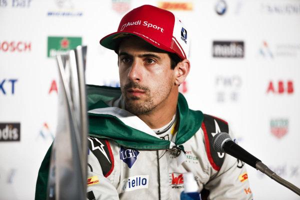 Lucas Di Grassi (BRA), Audi Sport ABT Schaeffler, 3rd position, in the press conference