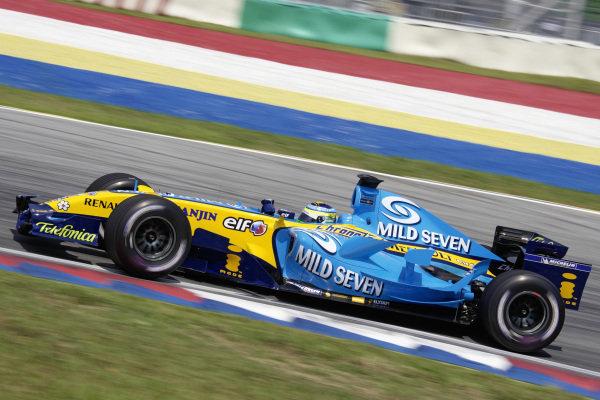 Giancarlo Fisichella, Renault R26.