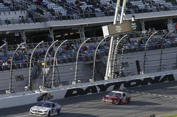 #52: Josh Bilicki, Rick Ware Racing, Ford Mustang, #78: Scott Heckert, Live Fast Motorsports, Ford Mustang