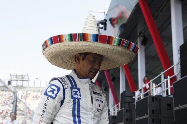 Race winner Katsuaki Kubota (JPN) Lotus 78 at Masters Historic, Circuit Hermanos Rodriguez, Mexico City, Mexico, 27-29 October 2017.