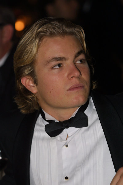 2002 Autosport Awards.Nico Rosberg.Grosvenor Hotel, London, England.1st December 2002.World Copyright: Spinney/LAT Photographic.Ref.: Digital Image Only