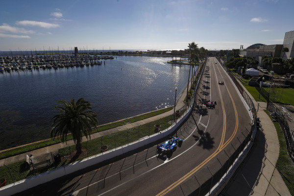 #10 Felix Rosenqvist, Chip Ganassi Racing Honda