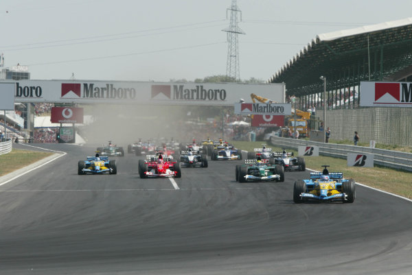 2003 Hungarian Grand Prix -Sunday Race, 