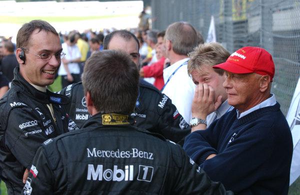 2003 dtm championship a1 ring austria - september .05-07.09 2003Niki Lauda.World Copyright-Andr- Irlmeier 2003 LAT Photographic ref: Digital Image Only