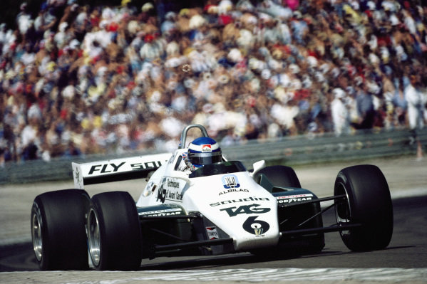 Keke Rosberg, Williams FW08 Ford.