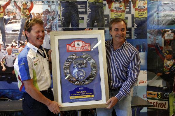Round 12Rally Spain 21-24 October 2010Malcom Wilson, Carlos Sainz, Ford WRC, PortraitWorldwide Copyright: McKlein/LAT