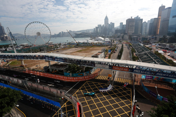 2017/2018 FIA Formula E Championship. Round 1 - Hong Kong, China. Saturday 02 December 2017. Oliver Turvey (GBR), NIO Formula E Team, NextEV NIO Sport 003. Photo: Alastair Staley/LAT/Formula E ref: Digital Image _ALS5626