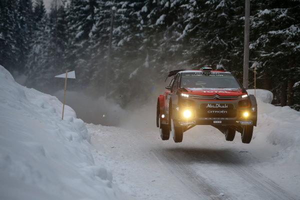 2018 FIA World Rally Championship, Round 02, Rally Sweden 2018, February 15-18, 2018. Craig Breen, Citroen, Action Worldwide Copyright: McKlein/LAT