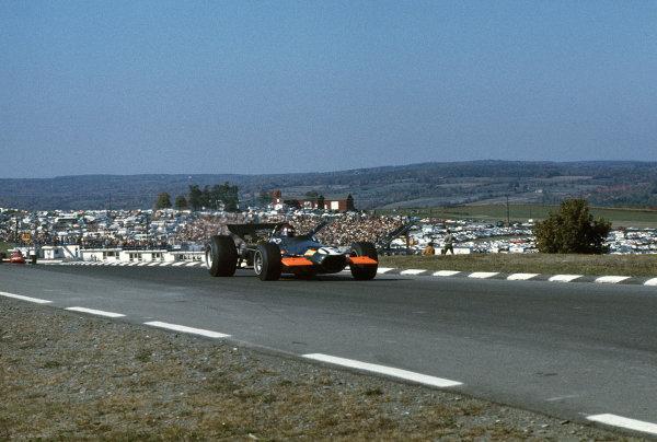 Watkins Glen, New York, USA.3-5 October 1969.Jackie Oliver (BRM P139).Ref-69 USA 03.World Copyright - LAT Photographic