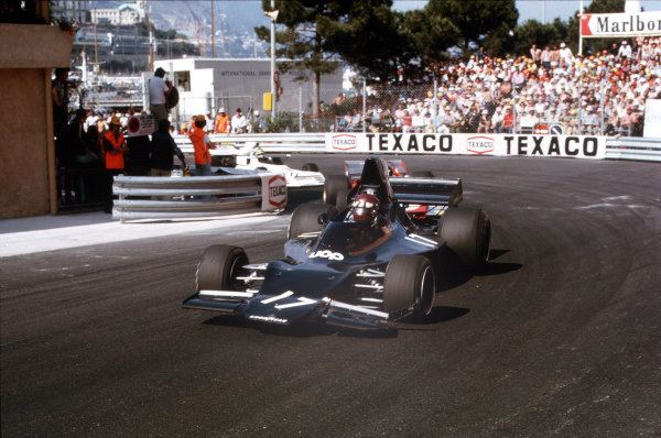 Monte Carlo, Monaco.31/5-3/6 1973.Jackie Oliver (Shadow DN1A Ford).Ref-73 MON 44.World Copyright - LAT Photographic