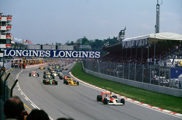 Imola, Italy. 29th April - 1st May 1988.